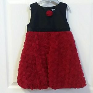 Elegant little girls dress size 24 months